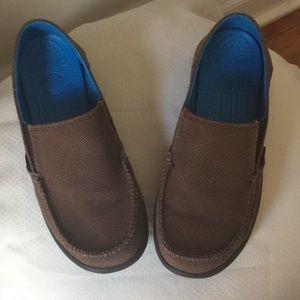Crocs Brown slip-ons